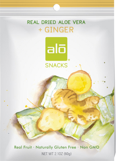ALO Fruit Snacks - Ginger
