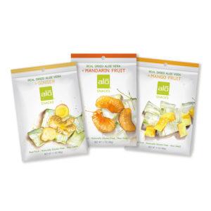 ALO Snacks 60g Retail Peg Bag Size2